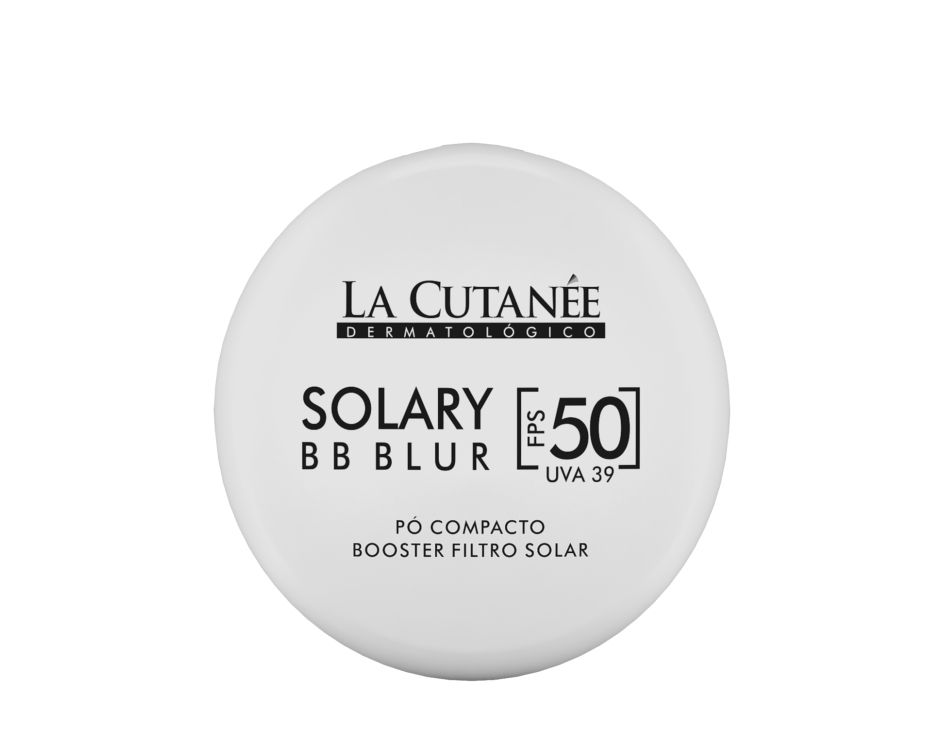 Solary BB Blur -  Pó Compacto com Filtro Solar FPS 50  Matificante