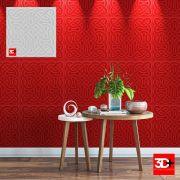 Placa 3d pvc 50 x50 /  Revestimento 3D parede / painel 3d pvc 50 cm  x 50 cm MODELO CORDOBA