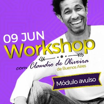 Workshop com Claudio De Oliveira - Módulo Avulso