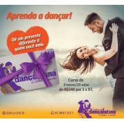 Curso de dança Presente dia dos Namorados
