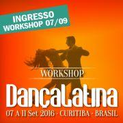 Ingresso Workshop  07/09
