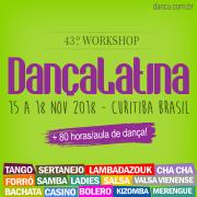 Compartilhe o 19º Workshop de dança latina e ganhe desconto no Ingresso para todos os 4 dias