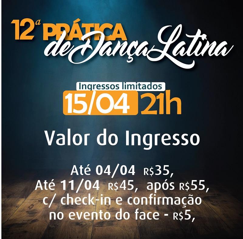 12ª Pratica de Dança Latina