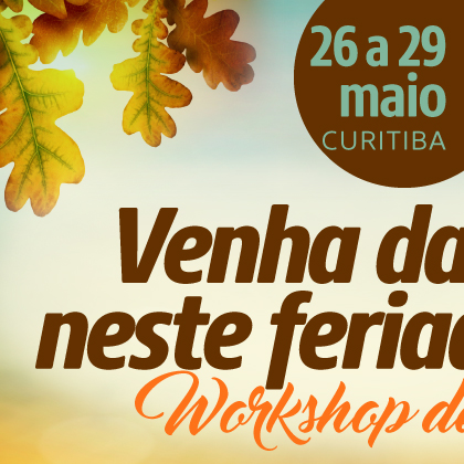 workshop de dança dia 26/05/16