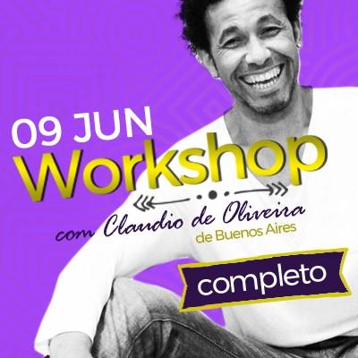 Workshop com Claudio De Oliveira - Completo