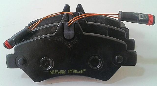 Pastilha Freio Bendix Jurid Traseiro MB Sprinter 415 2012/... (jogo)