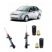 Amortecedor Dianteiro Fiesta Hatch / Sedan 03/... (Batente+Coifa) -Par