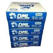 Disco Tacógrafo 7 Dias 180 KM (Kit com 10 Caixas) DML
