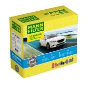 Kit Filtros Toyota Etios 1.3 1.5 16V Flex 2013/... -MANN FILTER