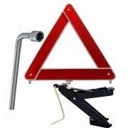 Kit Estepe Segurança (Triangulo + Macaco + Chave L19)