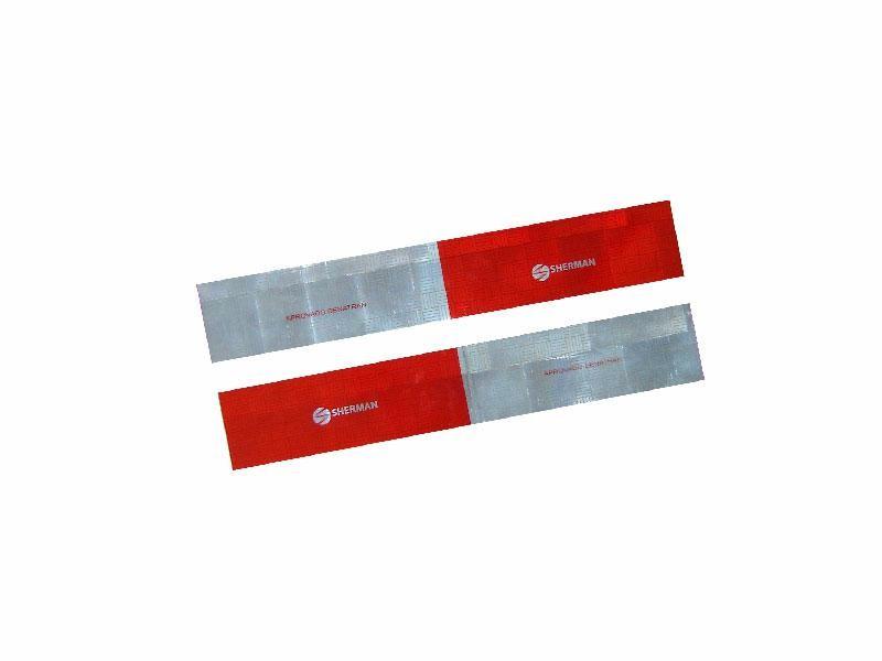 Faixa Refletiva Lateral Kit C/ 10 Peças Lados Direito e Esquerdo