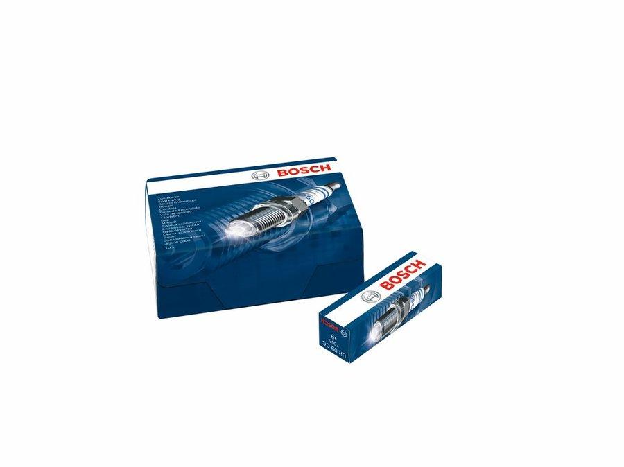 Jogo de velas New Civic 1.8 Flex 2006/... Fit 1.5 Flex 2009/2014-Bosch