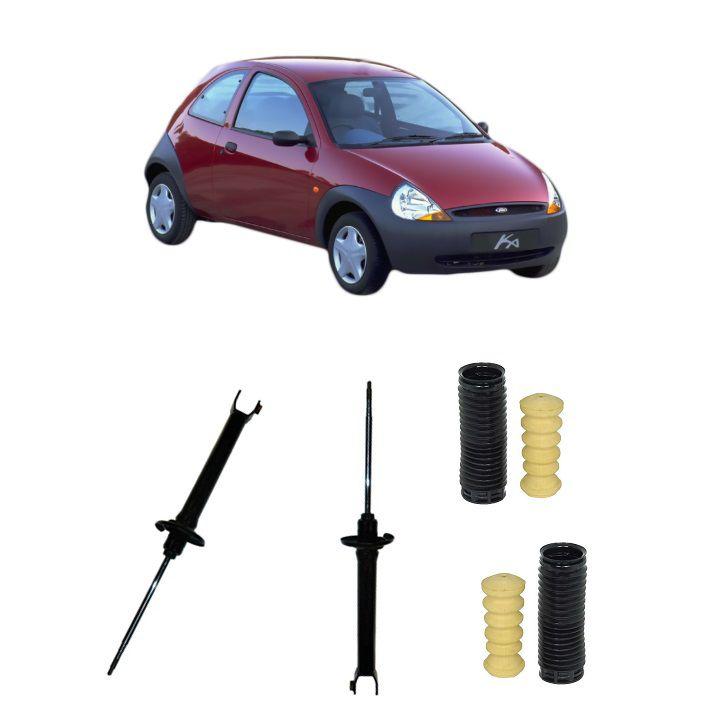 Amortecedor Traseiro Ford Ka 97/07 (Batente+Coifa) Par - Corven