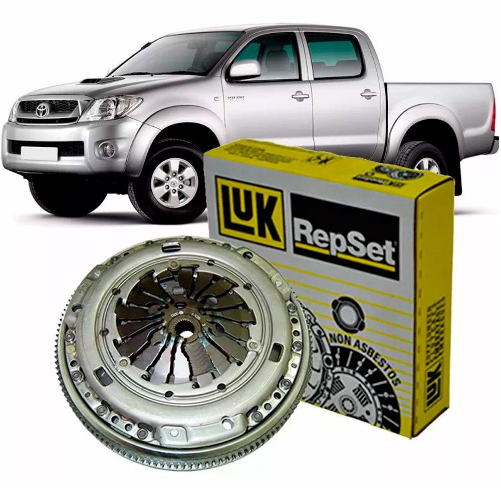 Kit Embreagem Hilux 3.0 SRV D4D 16V Diesel 05/11 (Platô + Disco) -Luk