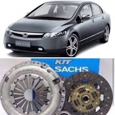 Kit Embreagem New Civic 1.8 16V 2007 até 2011 - marca sachs