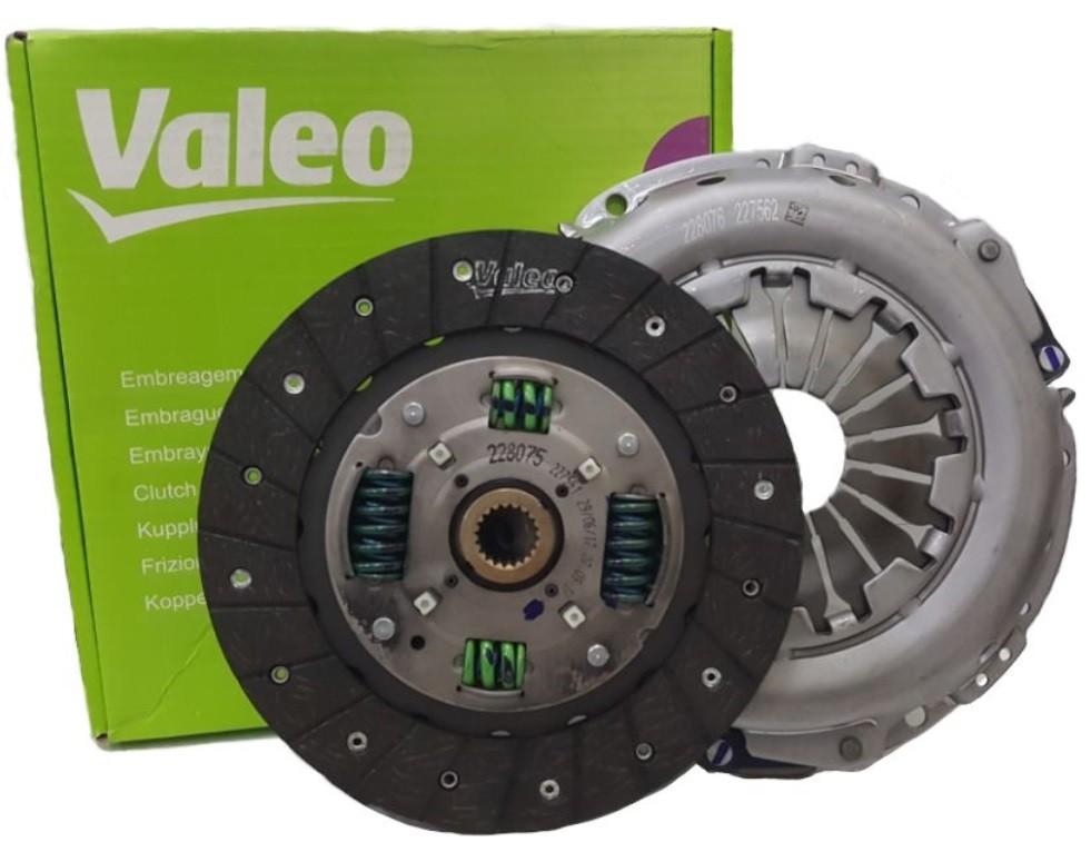 Kit Embreagem Palio Idea Punto 1.6 1.8 16v Dualogic (Plato+Disco)Valeo