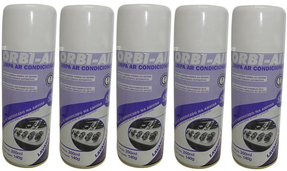 Kit Limpa Ar Condicionado Higienizador (Lavanda com 05 unidades)