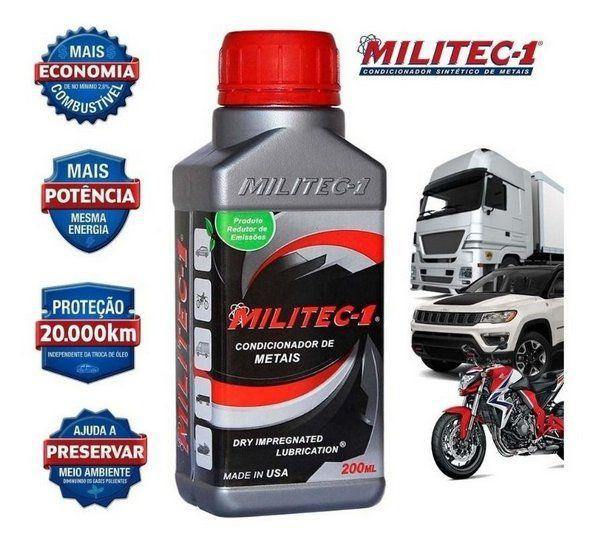 Militec-1 Condicionador de Metais 200 ml para Motores