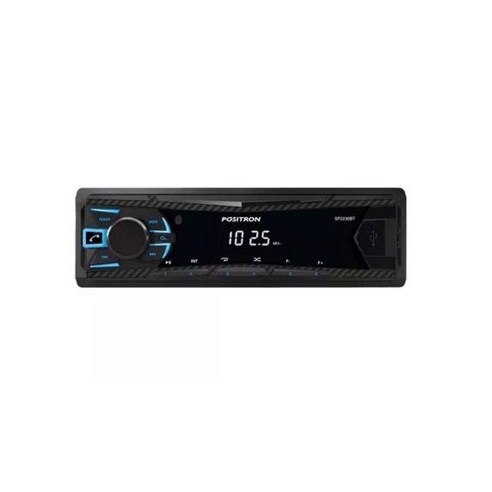 Rádio Automotivo Positron MP3 Player FM Bluetooth/USB S/CONTROLE
