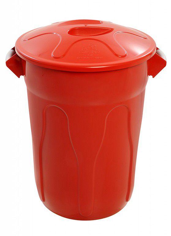 Cesto de Lixo Plastico com Tampa 20 Litros