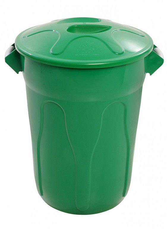 Cesto de Lixo Plastico com Tampa 40 Litros