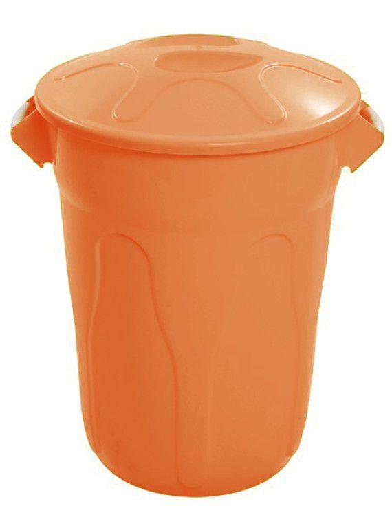 Cesto de Lixo Plastico com Tampa 100 Litros