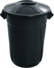 Cesto de Lixo Plastico com Tampa 60 Litros