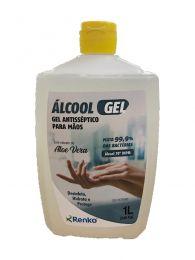 Álcool Gel Antisséptico para as Mãos 70% 1L Renko