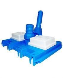 Aspirador 8 Rodas para piscinas de fibra e alvenaria