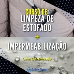 Curso de Limpeza e Impermeabilização de Estofados