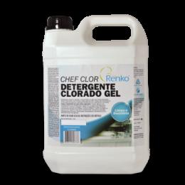 Detergente Clorado Gel Chef 5 Litros Renko