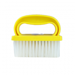 Escova Manual Para Estofados Amarela Bralimpia