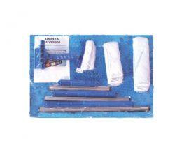 Kit Para Limpeza de Vidros Combinado Bralimpia