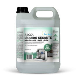 Líquido Secante Máquinas de Lavar Louça Secca 5l Renko