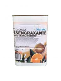 Removedor Desengraxante a base de D Limoneno Eco Orange 1L