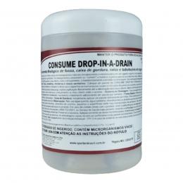 Tratamento Biologico Para Caixa de Gordura Consume Drop in a Drain 350g Spartan