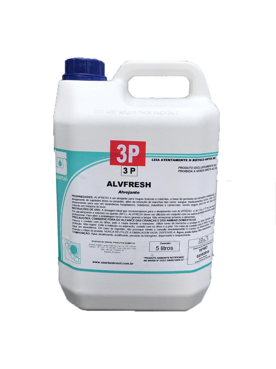 Alvejante Alvfresh 5L Spartan
