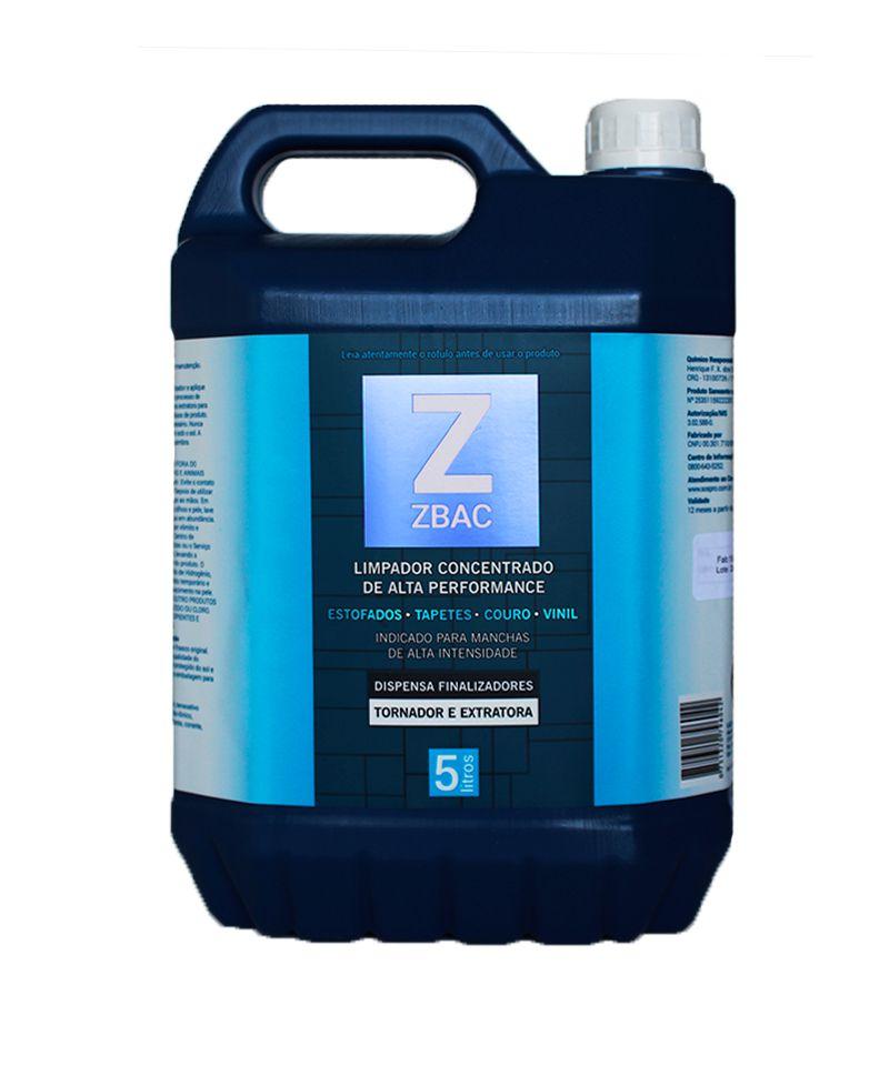 Bactericida Com Poder Finalizador Concentrado ZBAC 5L Easytech