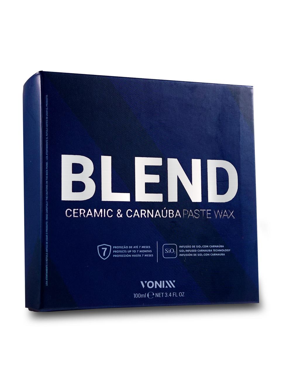Blend Cera de Carnaúba Sílica 100g Vonixx