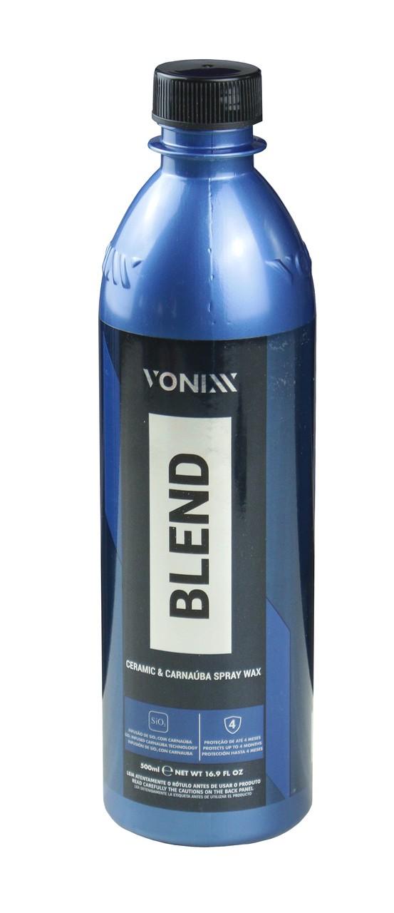 Blend Cera de Carnaúba Sílica Spray 500ml Vonixx