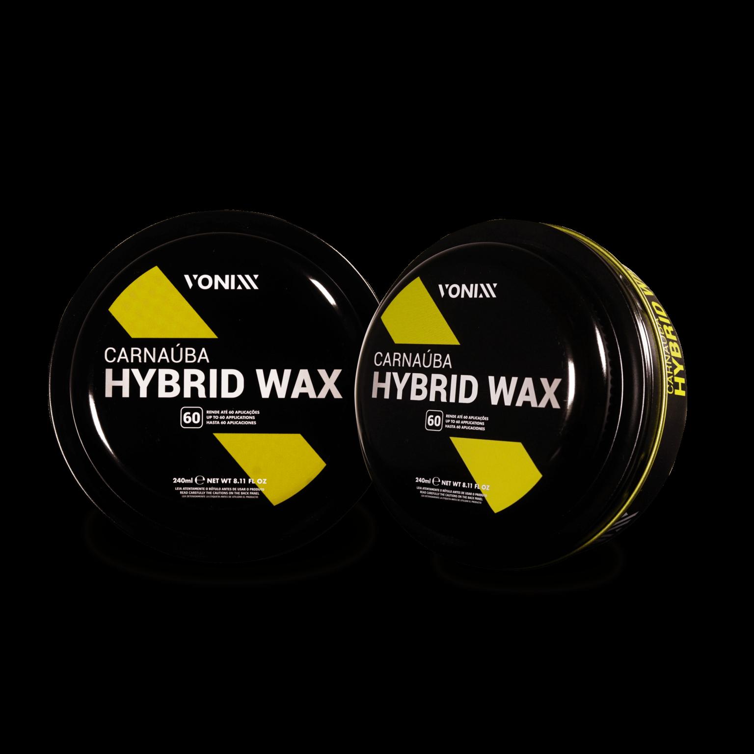 Cera de Proteção Carnauba Hybrid Wax 240ml Vonixx