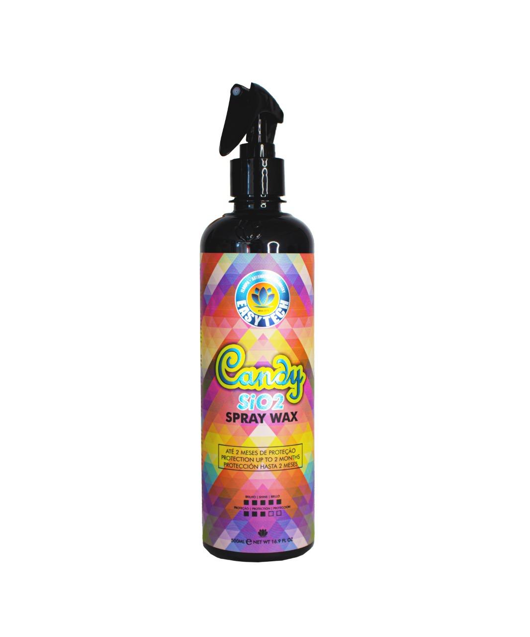 Cera Líquida Candy Spray Wax 500ml Easytech