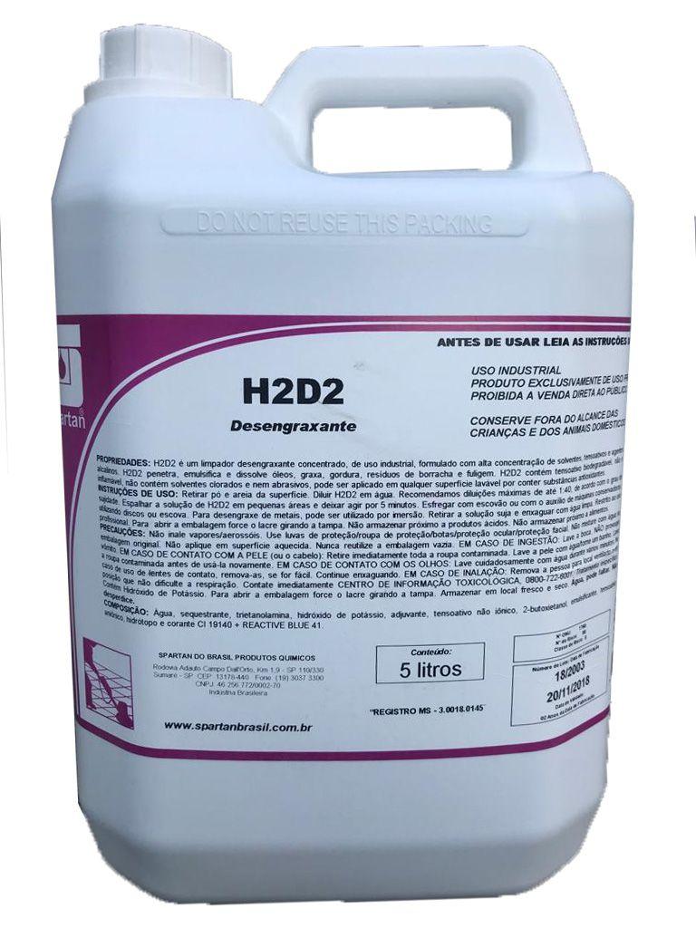 Desengraxante H2D2 5L Spartan