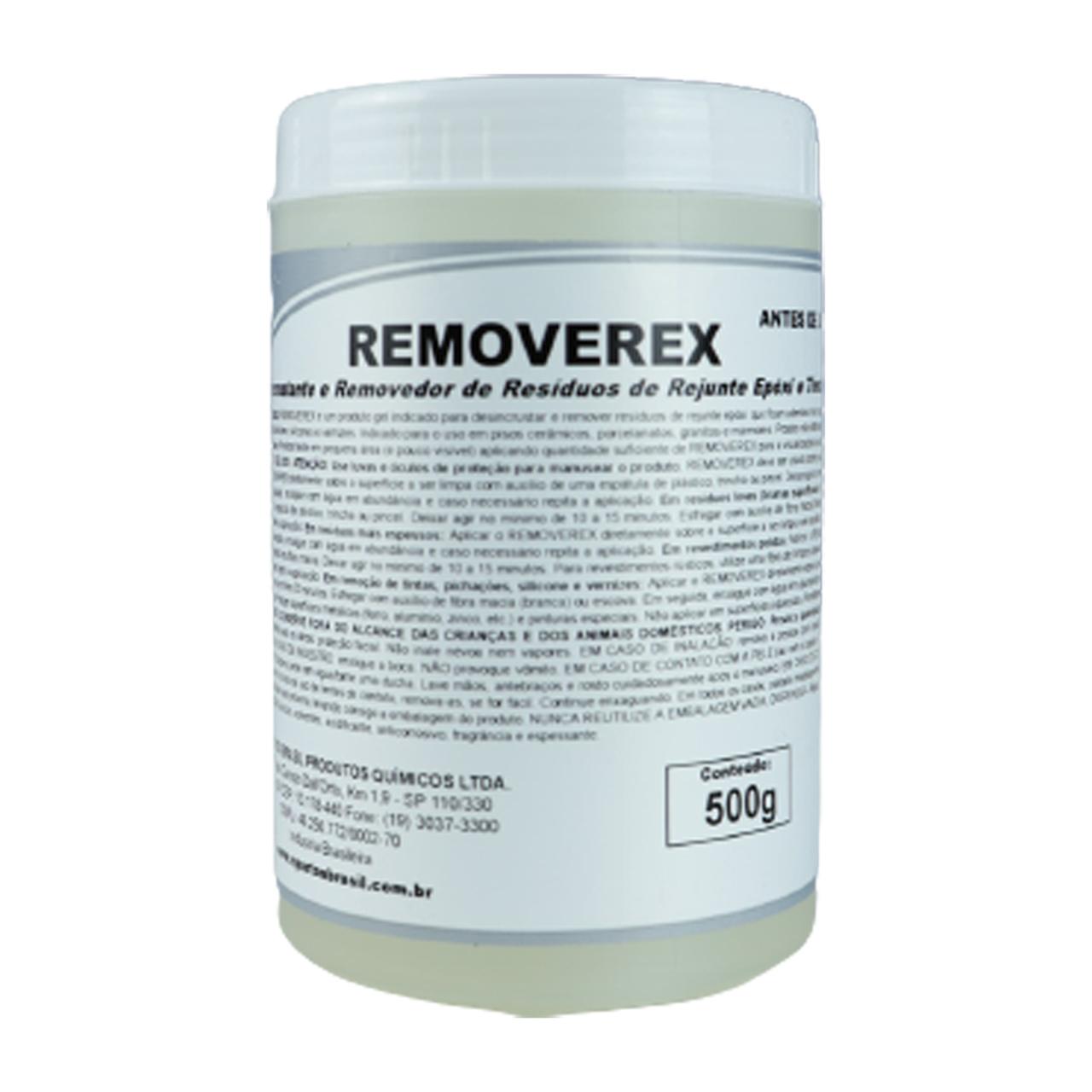 Desincrustante e Removedor de Resíduos de Rejunte Removerex
