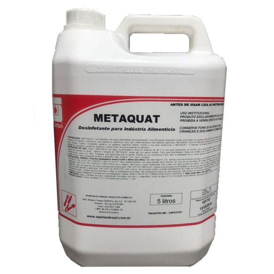 Desinfetante Para Industria Alimenticia Metaquat 5L Spartan