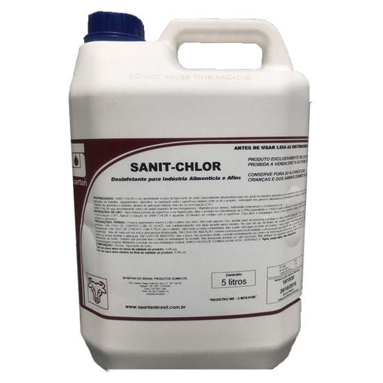 Desinfetante Para Industria Alimenticia Sanit-Chlor 5L Spartan