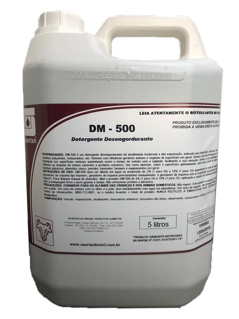 Detergente Desengordurante DM 500 5L Spartan