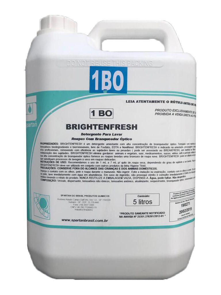Detergente Para Lavar Roupas Com Braqueador Óptico Brightenfresh 5L Spartan