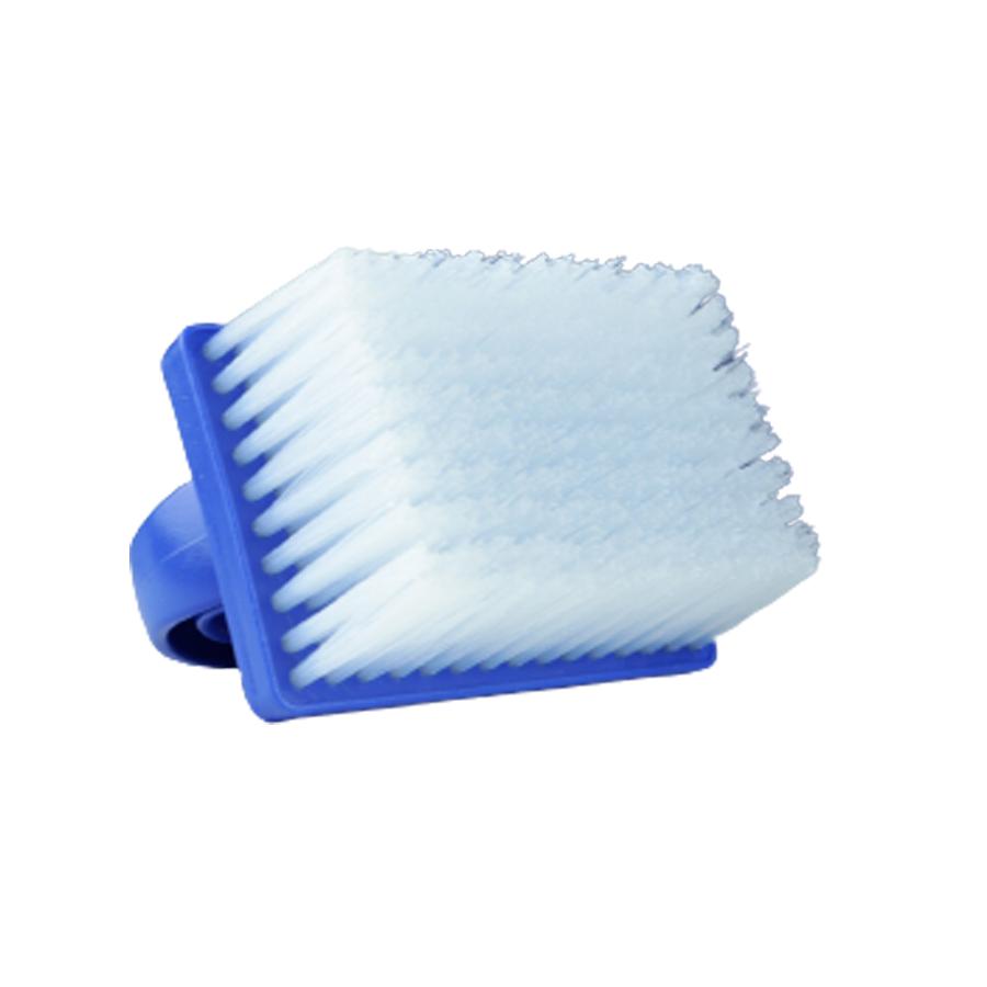 Escova Manual Para Estofados Azul Bralimpia