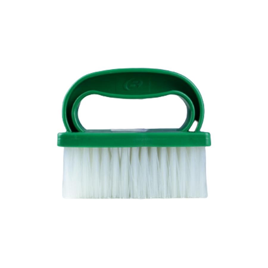 Escova Manual Para Estofados Verde Bralimpia